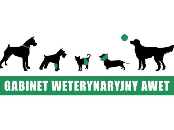 GABINET WETERYNARYJNY AWET - Logo lecznicy - WORLDPETNET