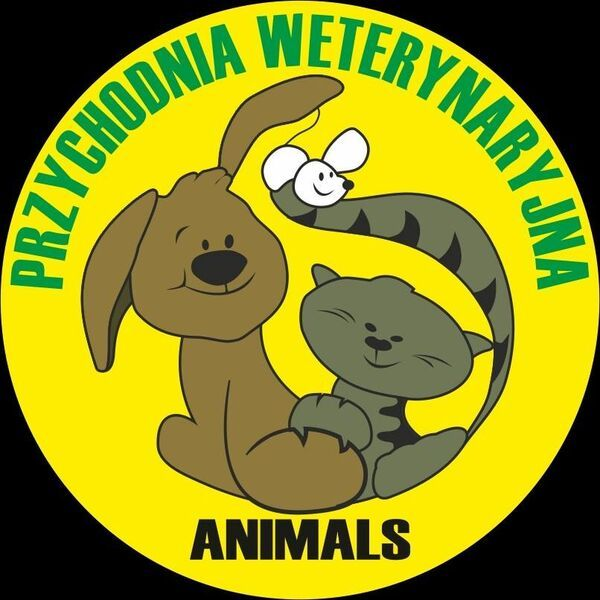 PRZYCHODNIA WETERYNARYJNA ANIMALS - Clinic logo – WORLDPETNET