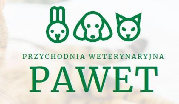PRZYCHODNIA WETERYNARYJNA PAWET - Logo lecznicy - WORLDPETNET