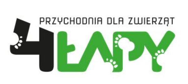 PRZYCHODNIA DLA ZWIERZĄT 4ŁAPY - Logo lecznicy - WORLDPETNET