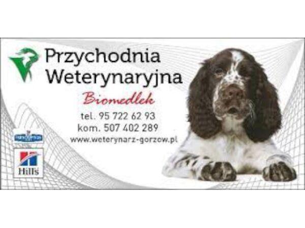 PRZYCHODNIA WETERYNARYJNA BIOMEDLEK - Logo lecznicy - WORLDPETNET