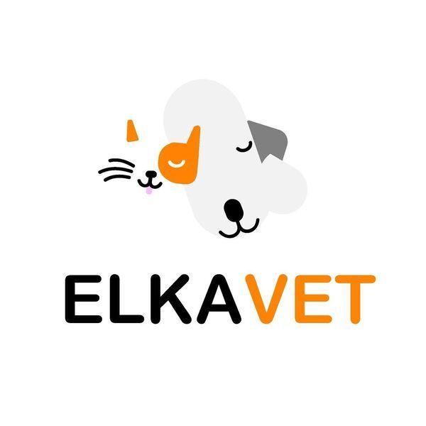GABINET WETERYNARYJNY ELKA - VET - Logo lecznicy - WORLDPETNET