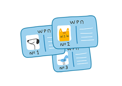 Tier bei WORLDPETNET registrieren